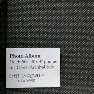 Cynthia Rowley Other Photo Album Lg Holds 500 Poshmark